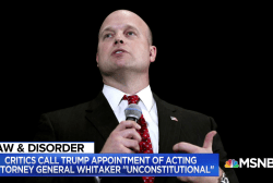 Fmr. prosecutor: Choice of acting attorney general is 'illegal'
