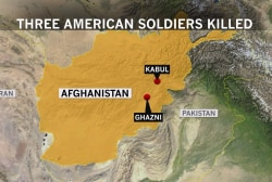 3 U.S. service members killed in Afghanistan roadside bombing