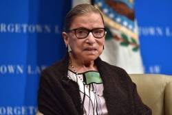 Justice Ginsburg breaks ribs after falling in office