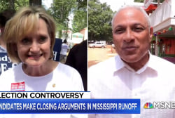 President Trump hosts 2 rallies for controversial Cindy Hyde-Smith