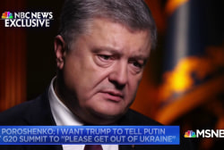 Ukraine president wants Trump's help in getting Russia out of his country