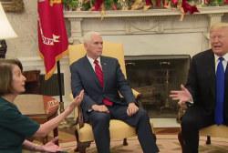 Pelosi and Schumer hammer Trump in brawl over border wall