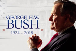 'Poppy': Reflecting on George H.W. Bush's namesake and letter writing