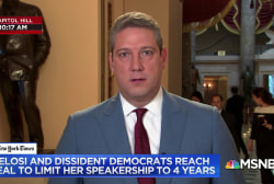 Rep. Tim Ryan talks why he changed his mind about backing Pelosi