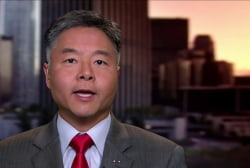 Rep. Lieu: We have a President who committed 2 felonies while running