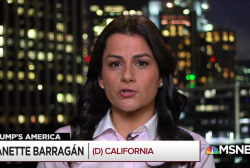 "Rep. Nanette Barragan: ""It is inhumane to be treating people the way that they are."""