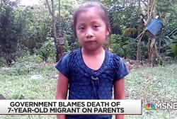 7-year-old migrant girl dies in CBP custody