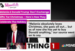 Christmas with the Trumps sounds...awkward