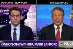 Rep. Sanford: Trump ordering hush money payments 'impeachable' if true