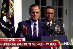 Col. Lawrence Wilkerson: There were no bone spurs for George H.W. Bush