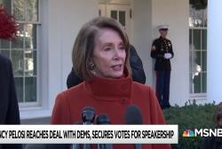 Pelosi silences skeptics, locks down votes for speakership