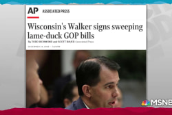 Lame duck Republicans disregard voters in multi-state power grab