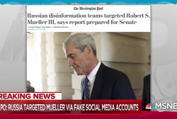 Russian disinformation also targeted Robert Mueller: Report