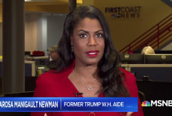 Omarosa: 'Look for Trump to throw a curve-ball candidate' for next Chief of Staff