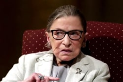 Ruth Bader Ginsburg undergoes procedure to remove cancerous growths