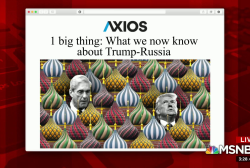 Axios asks: How involved was Trump with Russia?