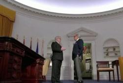 Tom Brokaw travels to revamped Nixon Library