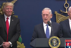 Trump rushes Mattis out two months early