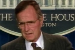 The impact of George H.W. Bush's foreign policy