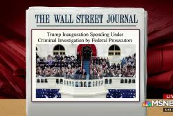 Feds investigating inauguration spending: WSJ