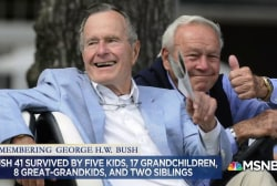 Honoring President George H.W. Bush's legacy and final words