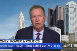 Kasich: 'Everyone wanted to play Santa Claus' after economic growth
