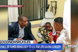 #GoodNewsRUHLES: Dikembe Mutombo flies boy from Congo to CA to remove tumor