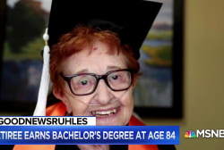 #GoodNewsRUHLES: 84-year-old to earn college degree after raising 5 kids