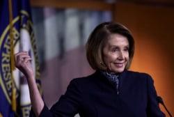 Is Nancy Pelosi having the best week in Washington?