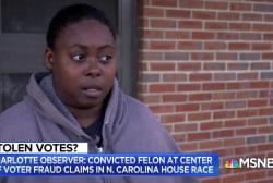 NC voter: Someone took my ballot