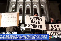 Wisconsin political expert: 'I doubt' Walker vetoes power grab