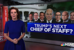 Who could serve as President Trump's new Chief of Staff?