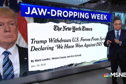 President Trump's unsettling week in headlines