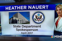 Who is Heather Nauert?