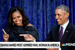 The 'most admired' man & woman in America