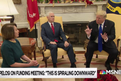 'They're chess players across from a checkers player': Trump spars with Chuck & Nancy