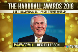 The Hardball Awards 2018: Best inglorious exit from Trump World