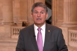 Mr. President, these people need their checks: Manchin