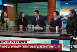New women in Congress: How we will lead differently