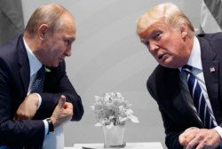 Why did Trump conceal the details of his meetings with Putin?