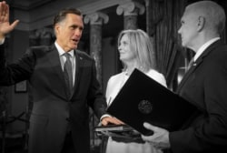 Will Senator Mitt Romney be a check on Trump on Capitol Hill?