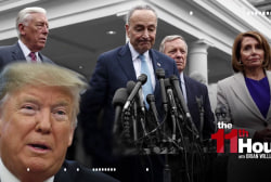 Trump & Dems can't even agree on what was said in shutdown meeting