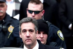 Cohen's wife, father-in-law feel directly targeted by Trump