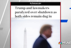 WaPo: Trump frustrated, isolated in shutdown fight