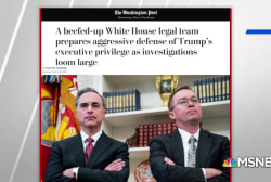 WaPo: White House prepares for aggressive defense of executive privilege