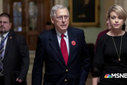 Mitch McConnell blocks vote to end shutdown