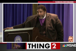 Rev. Dr. Barber blasts politicians for hypocrisy about MLK