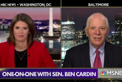Sen. Cardin: 'Outrageous' to lift sanctions on Russian oligarch's companies