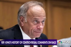 Rep. Steve King's long history with controversial comments on race