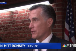 Mitt Romney is appalled by Trump's character, but what about his policies?